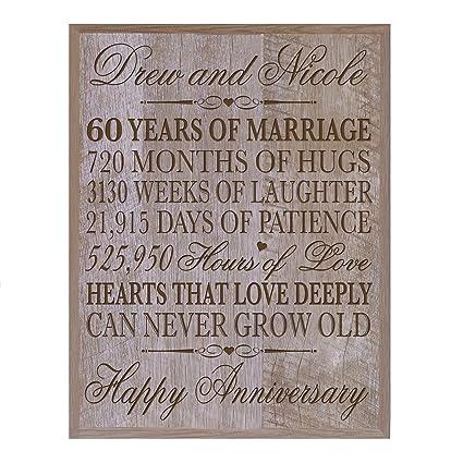 Amazon Lifesong Milestones Personalized 60th Wedding