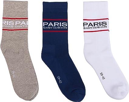 PARIS SAINT GERMAIN Chaussettes de Football PSG Collection Officielle Taille Adulte Homme