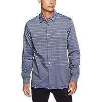 Lacoste Men's Slim Fit Placed Stripe Shirt