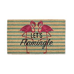 DII CAMZ38794 Seasonal Doormats, Lets Flemingle