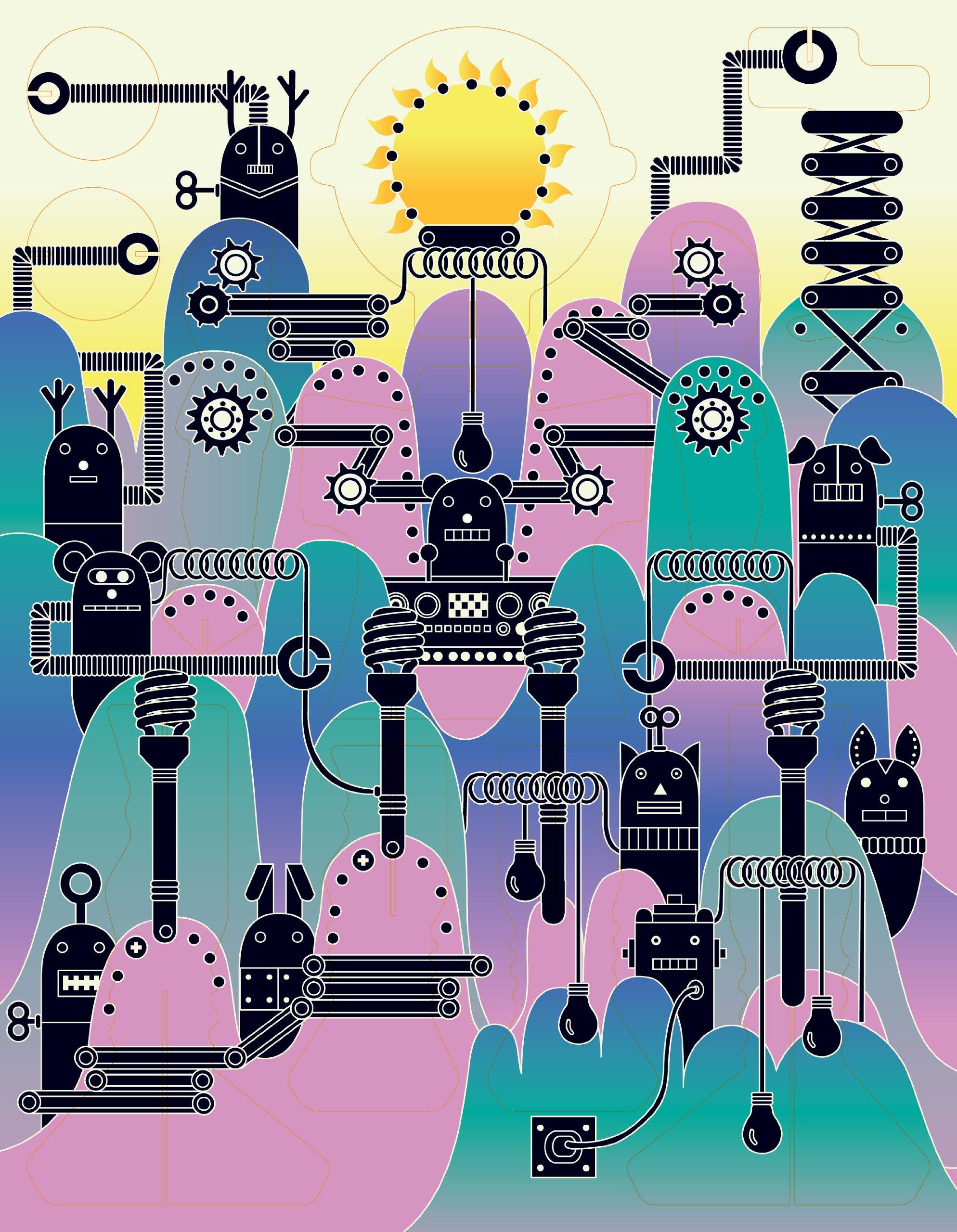 Make Your Own Robot: Laurence King Publishing: 9781856699037: Amazon ...