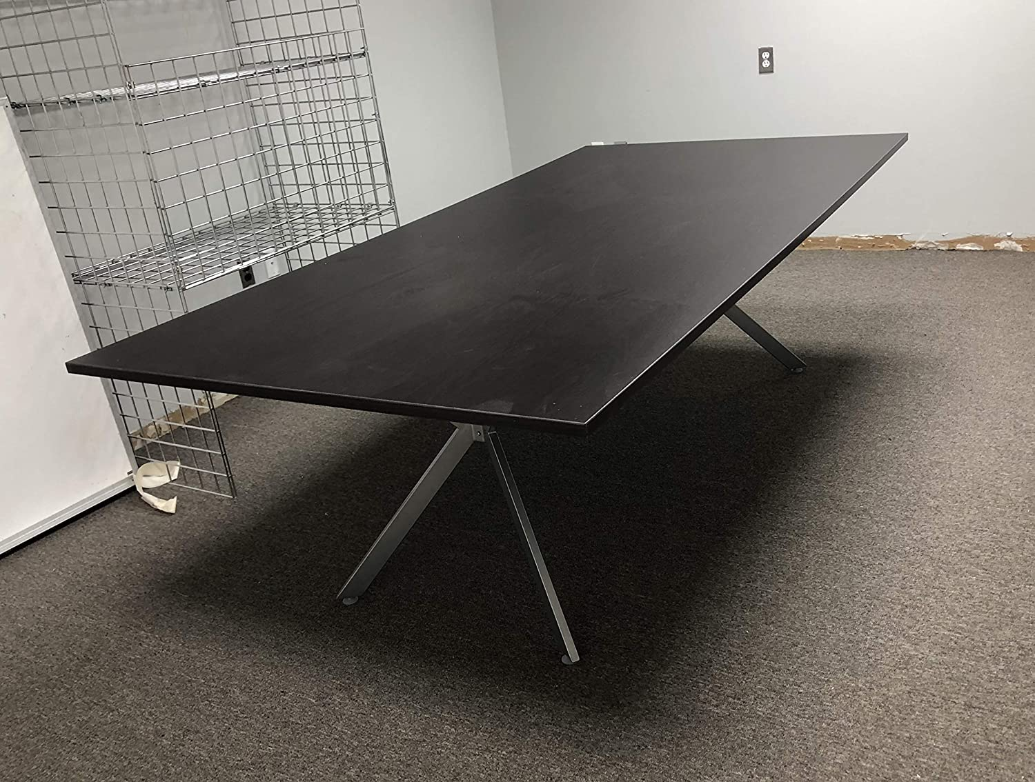 Amazon Com Dfs Designs Tech Conference Table 8ft By 4ft In