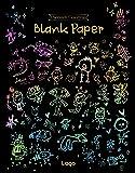 [ラゴデザイン] スクラッチカラーリング 子供用 スクラッチ無地 Scratch Coloring_Blank Paper メーカー名: ラゴデザイン