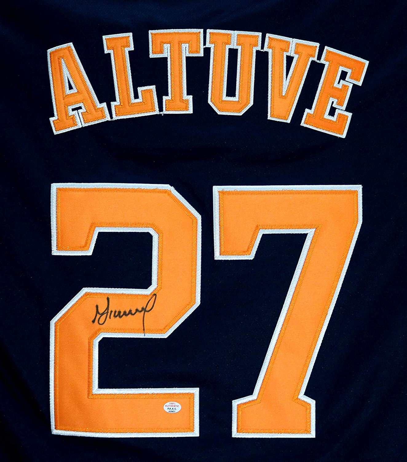 info for 34460 b6754 Jose Altuve Houston Astros Signed Autographed Signed Blue ...