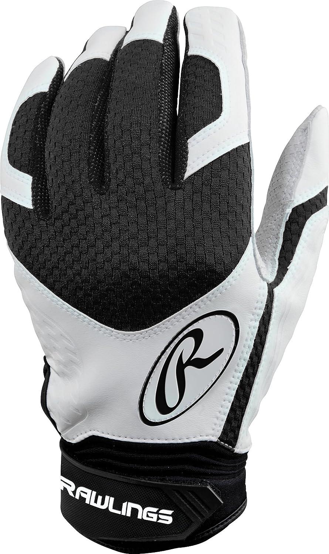 Rawlings exclbg-b-91 Excellence BG野球バッティング手袋、Xラージ B00EP6NC00