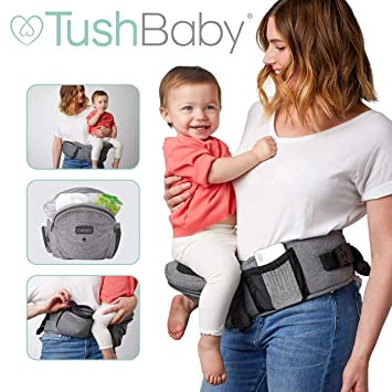 Tushbaby The Only Safety Certified Hip Seat Baby Carrier As Seen On Shark Tank Ergonomic Waist