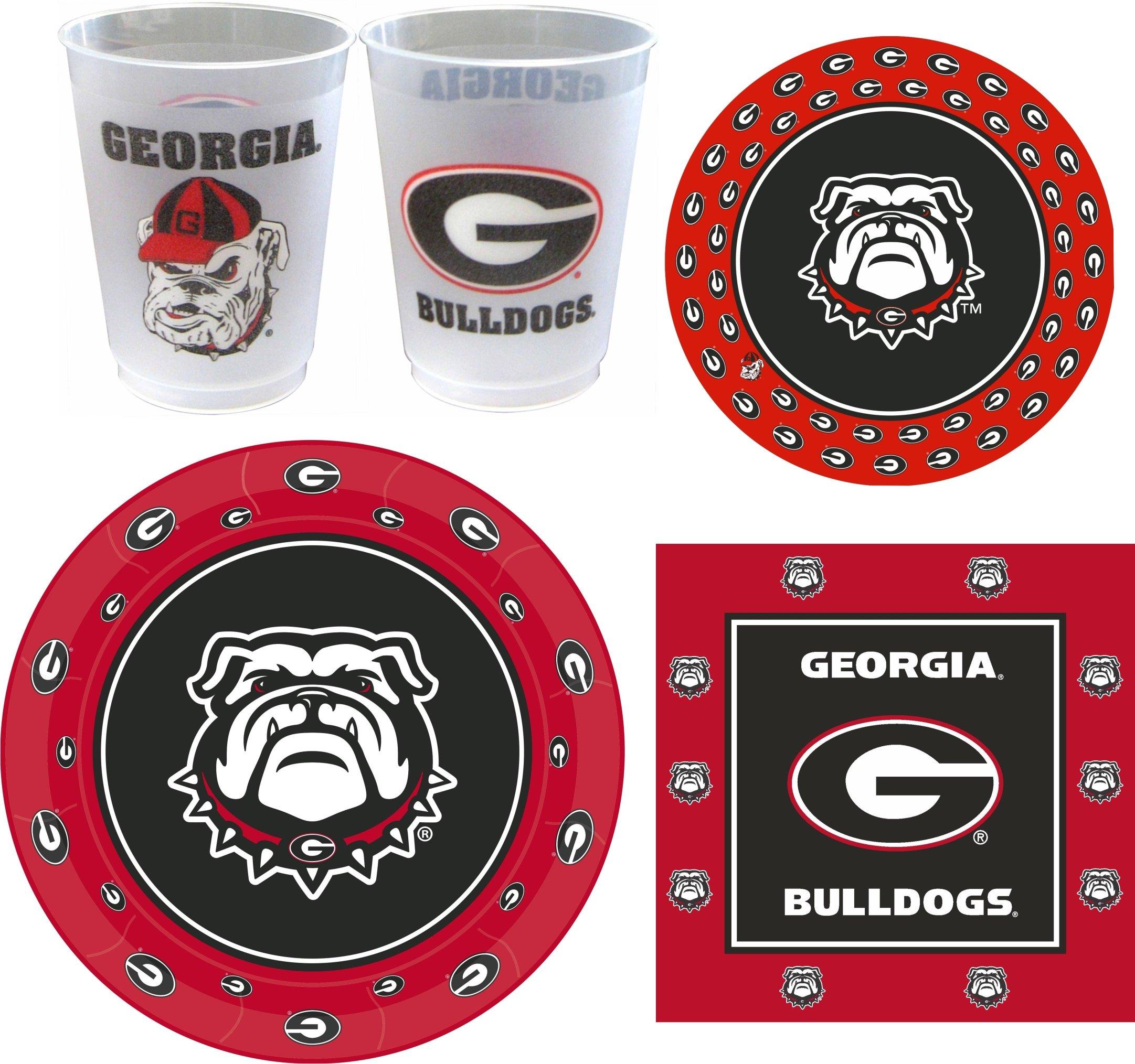 Westrick Georgia Bulldogs Party Supplies - 105