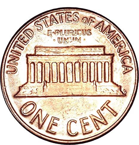 1963 D Lincoln Memorial Cent 1C About Uncirculated at Amazon's