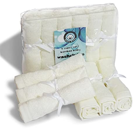 Toallitas toallitas de limpieza de todos los Naturales, reutilizable suave toallas de algodón orgánico y bambú, ...
