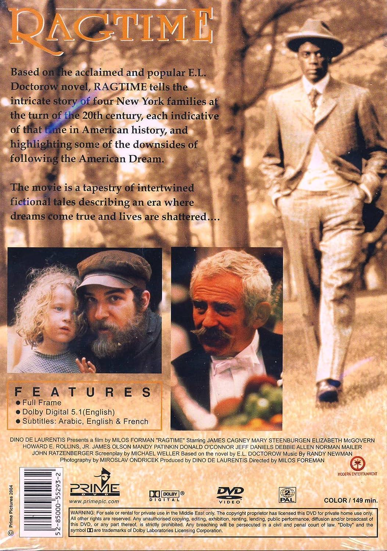 Ragtime [Reino Unido] [DVD]: Amazon.es: James Cagney, Brad ...