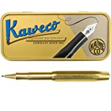 Kaweco Brass Sport Gel/Ballpoint Pen Including 0.7 mm Rollerball Pen Refill for Left Handed and Right-Handed in Classic…
