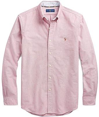 c0866243d Amazon.com  Polo Ralph Lauren Men s Long Sleeve Classic Fit Poplin ...