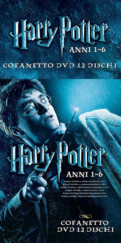 Harry Potter Anni 1-6 Cofanetto Special Edition 12 Dvd Italia ...