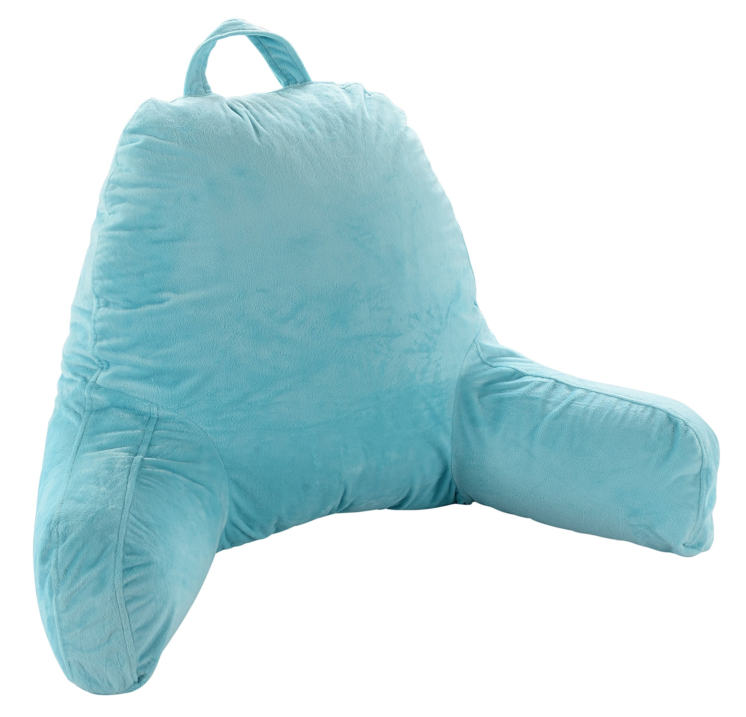 Cheer Collection Kids Size Reading Pillow with Arms for Sitting Up in Bed (Sky Blue) by Cheer Collection