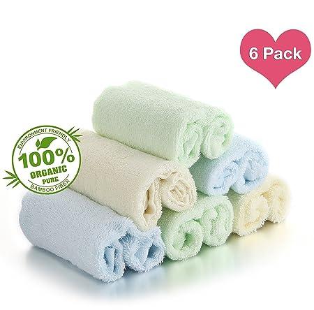Review Bamboo Baby Washcloths,Natural Organic