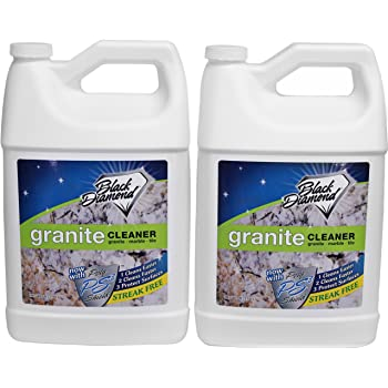 Black Diamond Stoneworks Granite Counter Cleaner: Natural Stone, Marble,  Travertine, Tile,