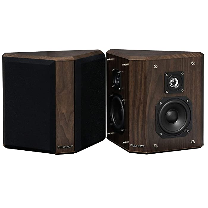 Top 9 Fluance Sxbp2w Home Theater Bipolar Surround Sound Speakers