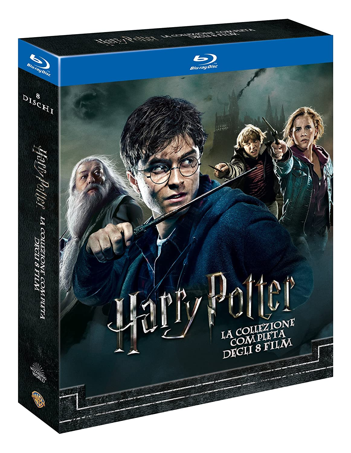 Harry Potter Collection Standard Edition 8 Blu-Ray Italia Blu-ray ...