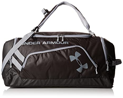 Under Armour - Bolsa de deporte, color negro, talla 55.88 x 27.94 x 25.4