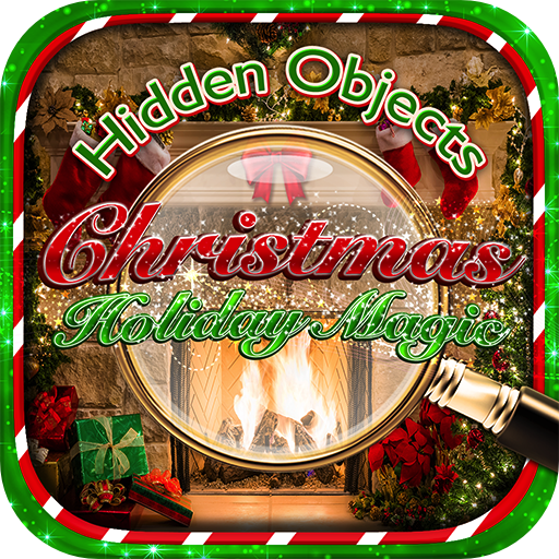 Hidden Objects - Christmas Holiday Magic Celebration & Object Time Puzzle Santa Winter Games ()