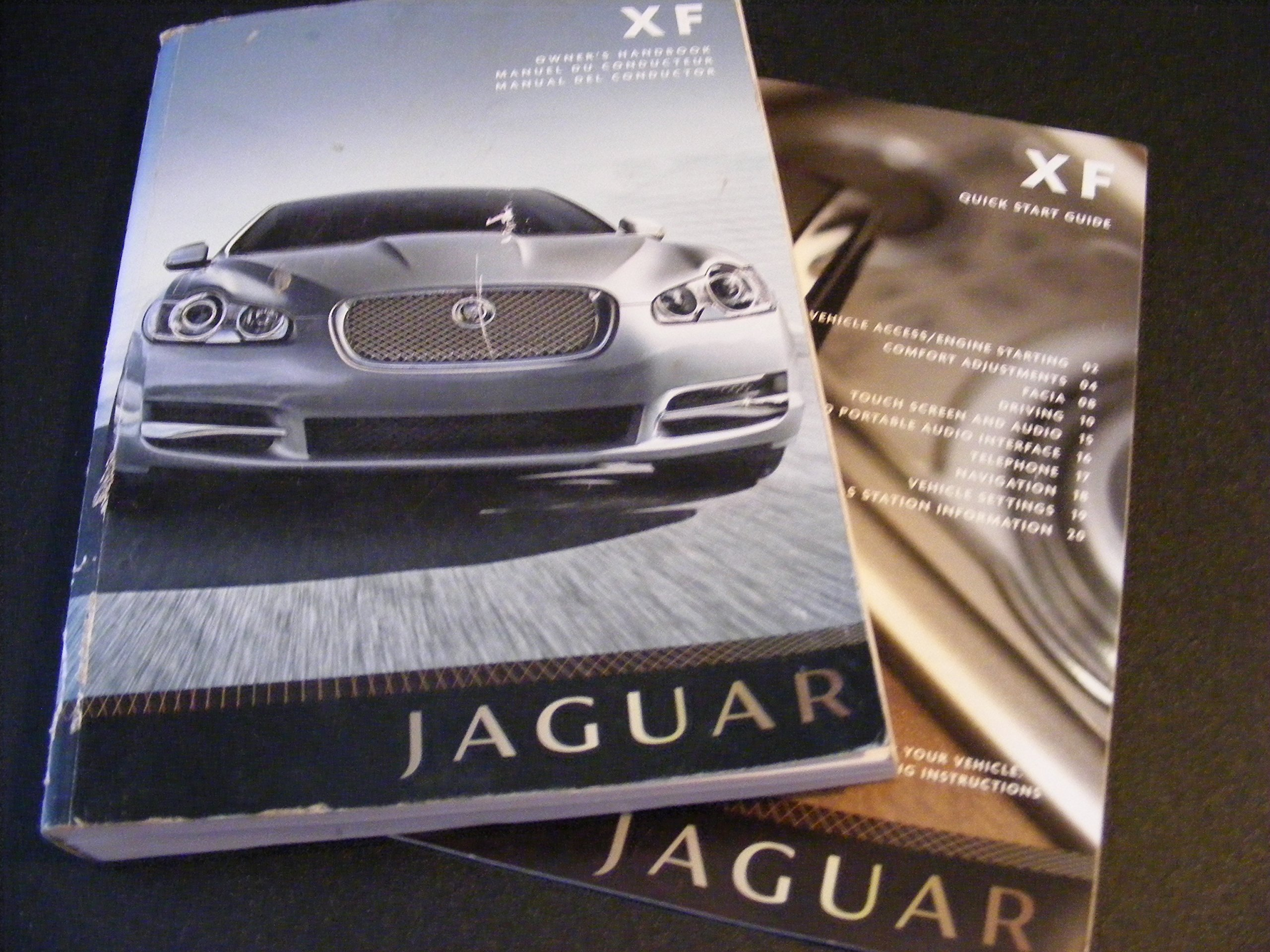 jaguar xf owners manual jaguar amazon com books rh amazon com jaguar xf owners manual 2012 jaguar xf owners manual 2012