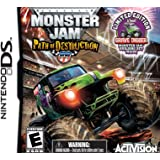 Monster Jam 3 with Kinex Bundle - Nintendo DS (Toy Bundle)