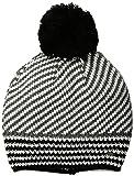 Tommy Hilfiger Women's Beanie, Black/Gray, One Size