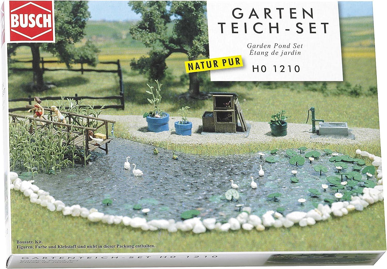 Hornby France Busch 1210 - Estanque de jardín para pista de tren , color/modelo surtido