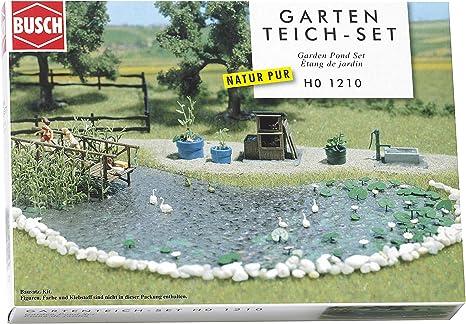 Hornby France Busch 1210 - Estanque de jardín para pista de tren , color/modelo surtido: Amazon.es: Juguetes y juegos