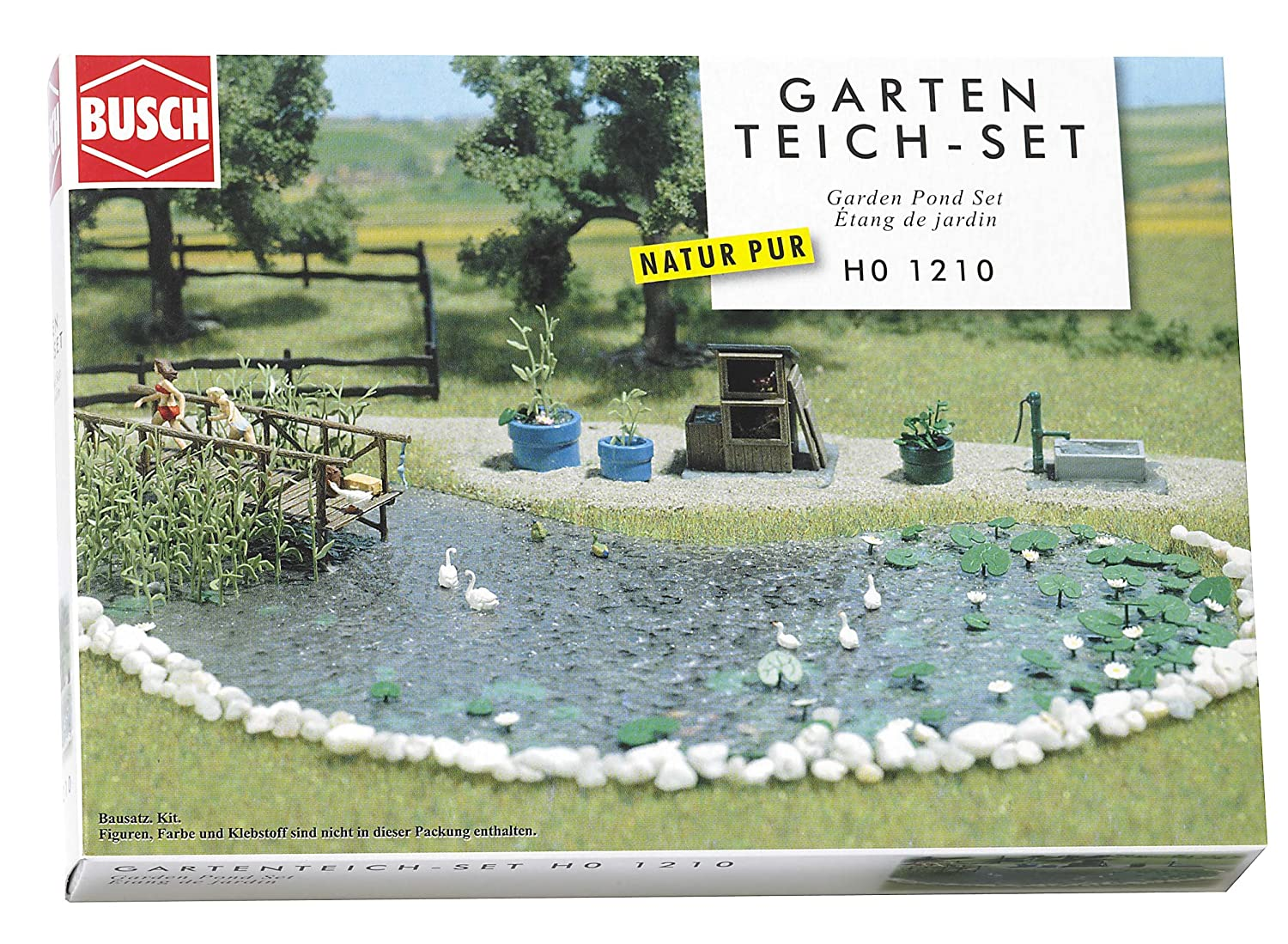 Garden Pond Set MODELS11 INC 1210