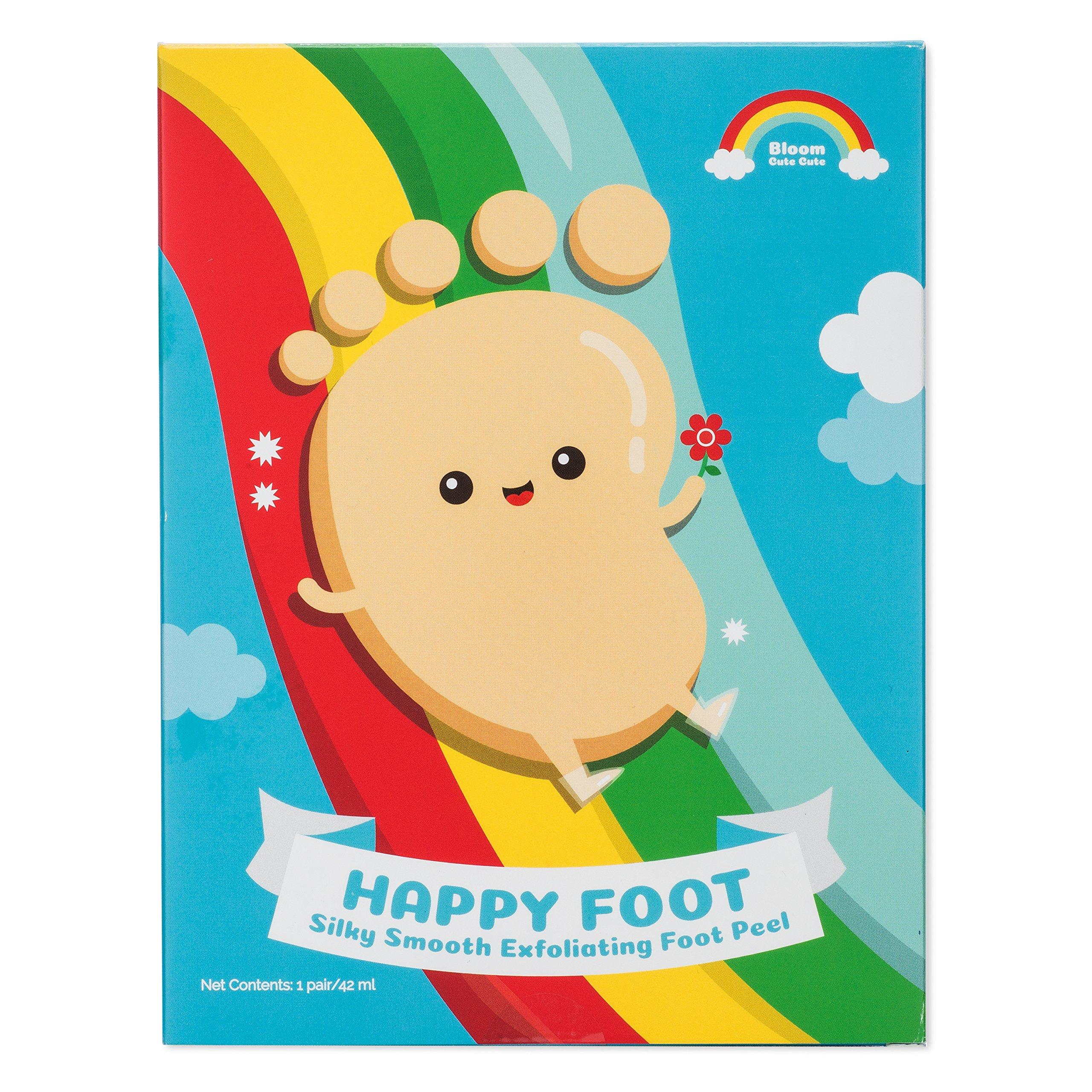 HAPPY FOOT Baby Soft Exfoliating Foot Peel by Bloom Cute Cute