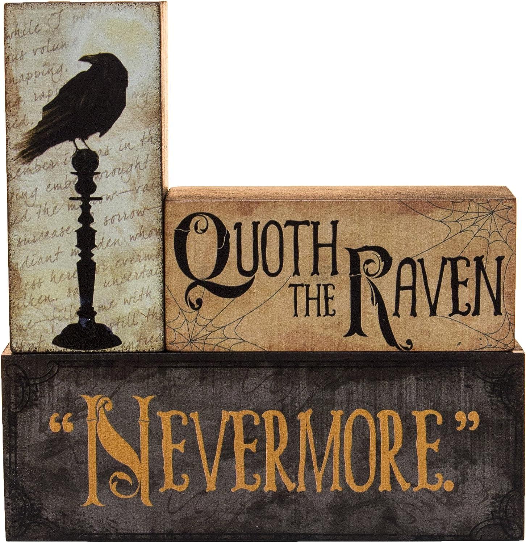 Halloween Decoration - Quoth The Raven