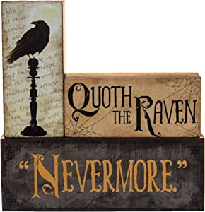 Halloween Decoration - Quoth The Raven