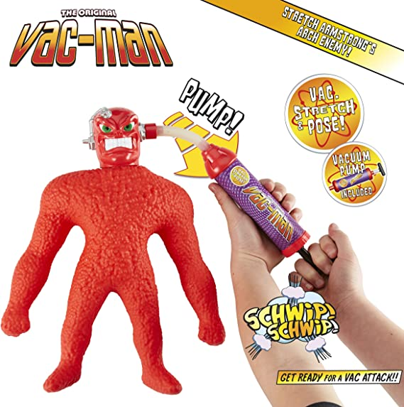 Stretch Armstrong The Original VAC-Man Action Figure neuf non ouvert