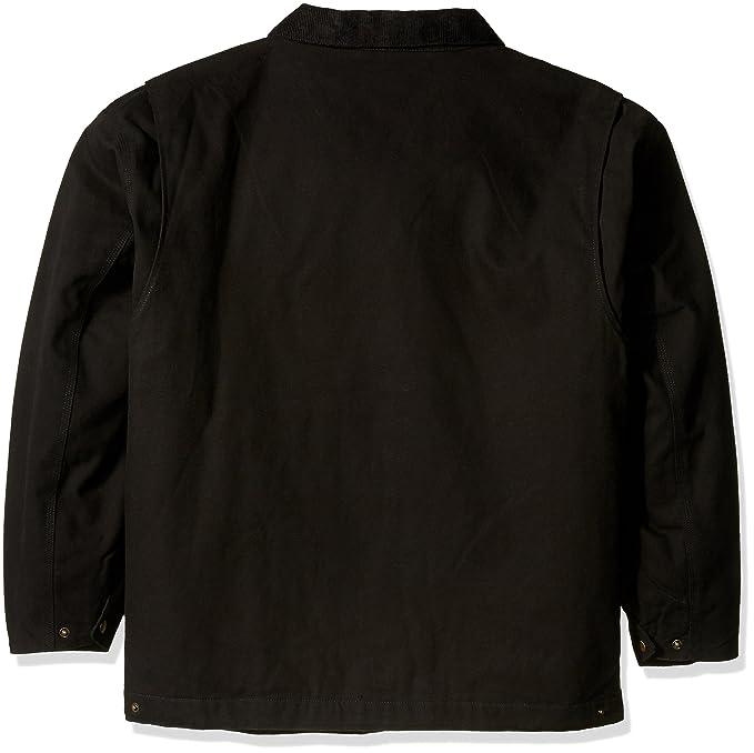 8788fb0b204 Amazon.com : NFL Tradesman Canvas Quilt Lined Jacket : Clothing