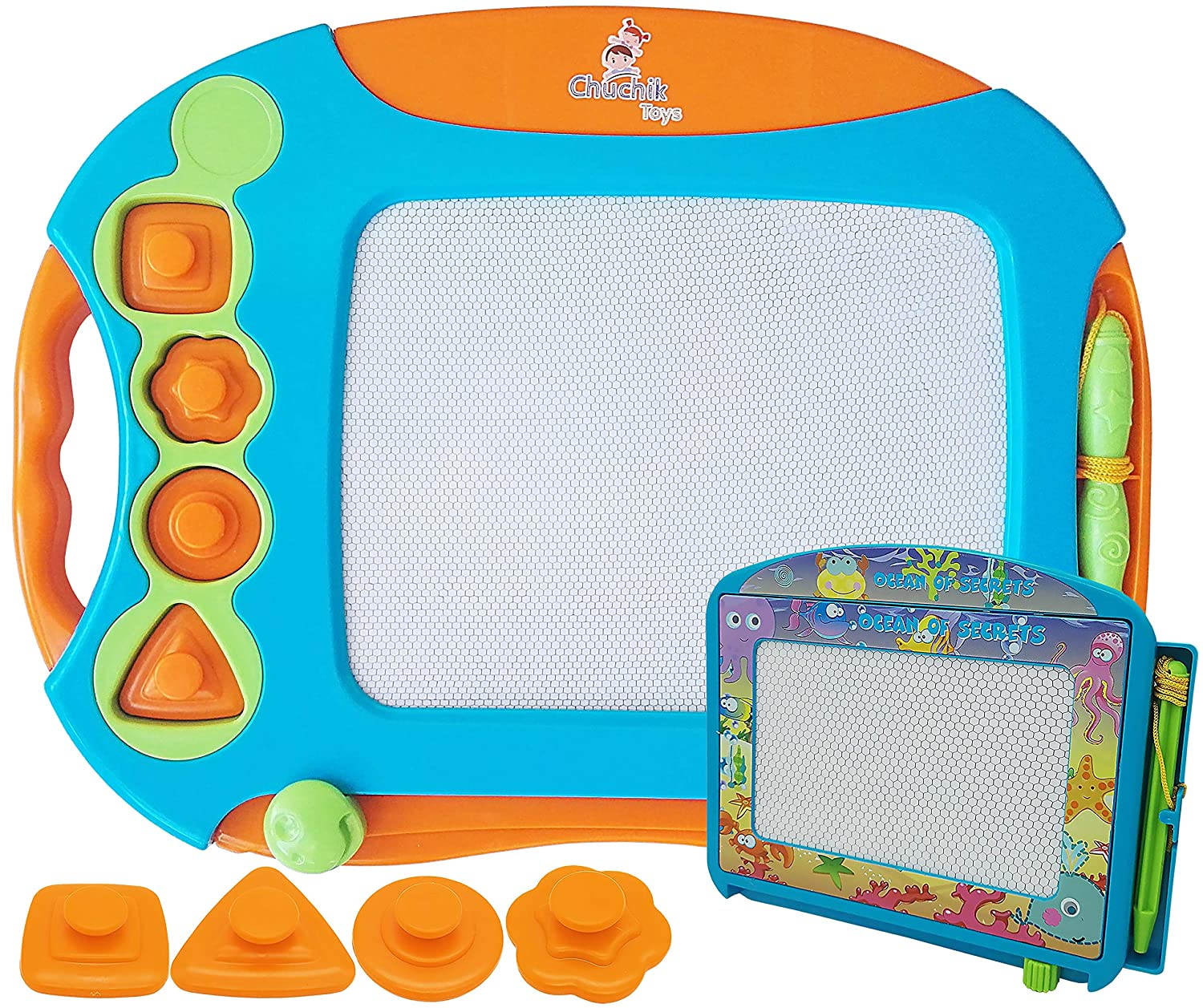 CHUCHIK Toys Magnetic Drawing Board for Kids and Toddlers