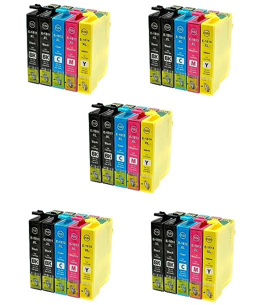 286 opinioni per Prestige Cartridge Epson 18XL 25 Cartucce d'Inchiostro Compatibile per Stampanti