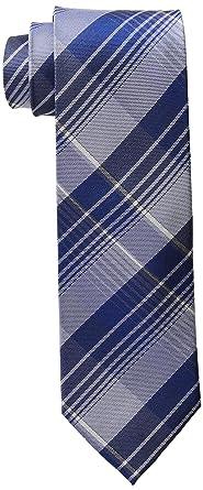 Calvin Klein Hombre K7962107 Corbata - Azul - talla única: Amazon ...