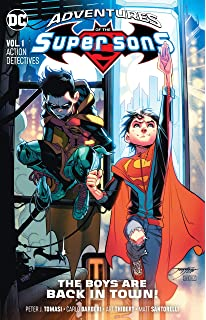 Amazon com: Super Sons Vol  2: Planet of the Capes (Rebirth
