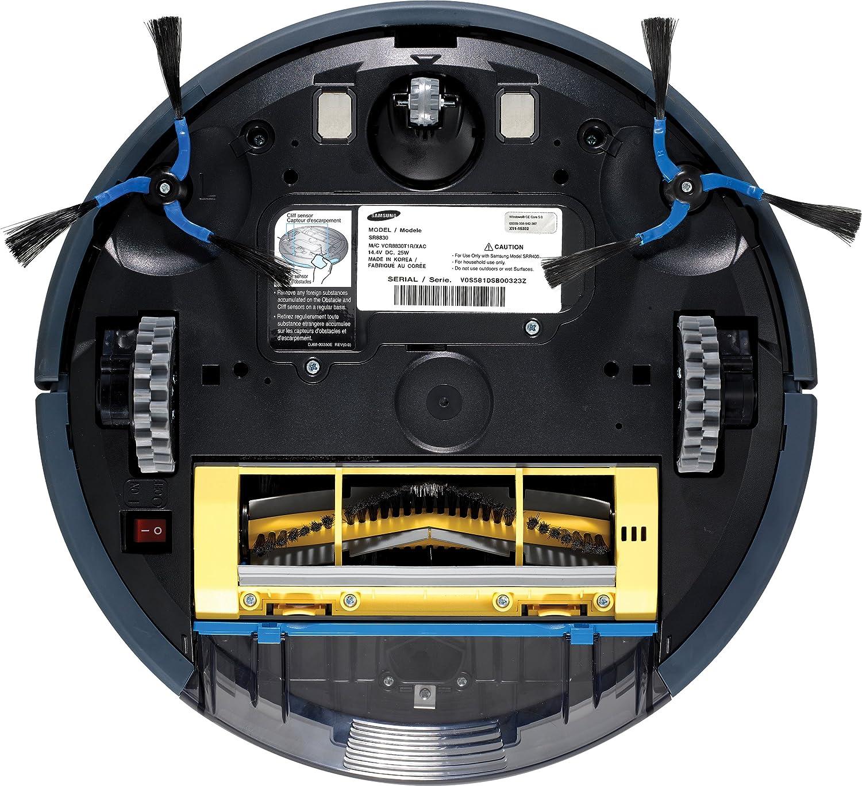 Samsung SR-8855, 2 h, 0.6 L, Azul, 73 Db, 100 x 350 x 320 mm, 3700 ...