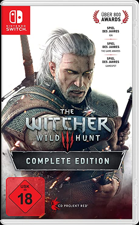 The Witcher 3: Wild Hunt - Complete Edition - Nintendo Switch ...