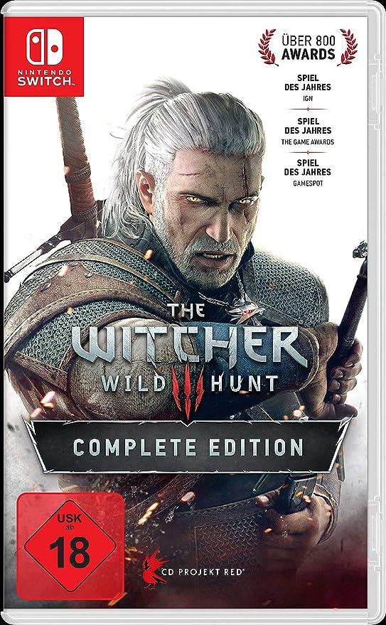 The Witcher 3: Wild Hunt - Complete Edition - Nintendo Switch [Importación alemana]: Amazon.es: Videojuegos