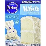 Pillsbury White Cake Mix, 15.25 Ounce (Pack of 12)
