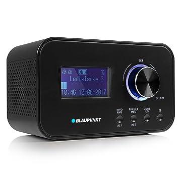 Blaupunkt CLRD 30 BK - Radio (Portátil, Analógico y Digital, Dab+,VHF, 6 W, LCD, Negro)