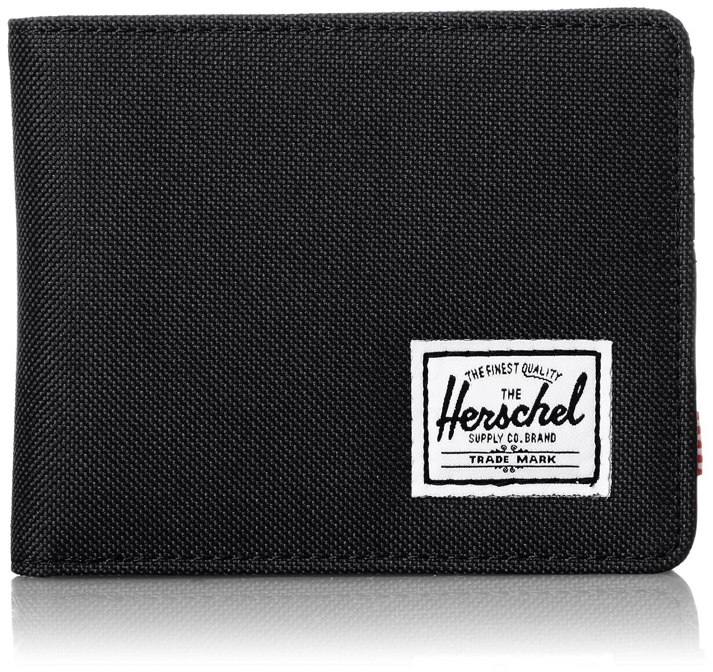 Herschel Supply Co. Hank Coin Wallet Black/Black Pup One Size 10149-C