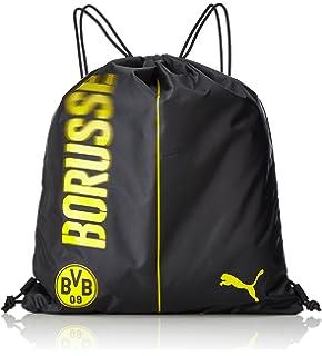 d45f38aa240c8 PUMA Turnbeutel BVB evoPOWER Gym Sack cyber yellow Black 21.8 x 20 x ...