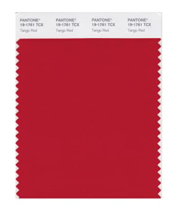 Pantone Smart 19 1761x Color Swatch Card Tango Red House Paint