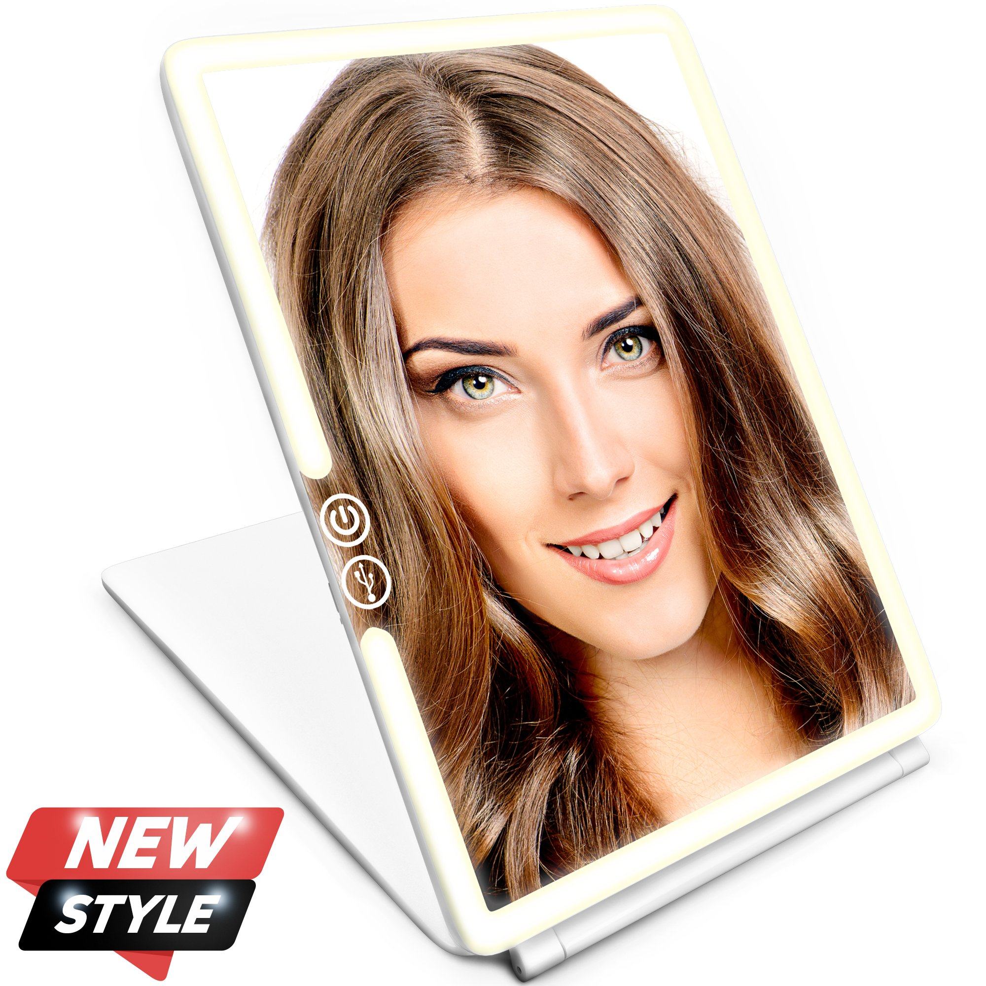 Makeup Mirror - Vanity Mirror - Cosmetic LED Mirror for women - LED Mirror for beautiful you