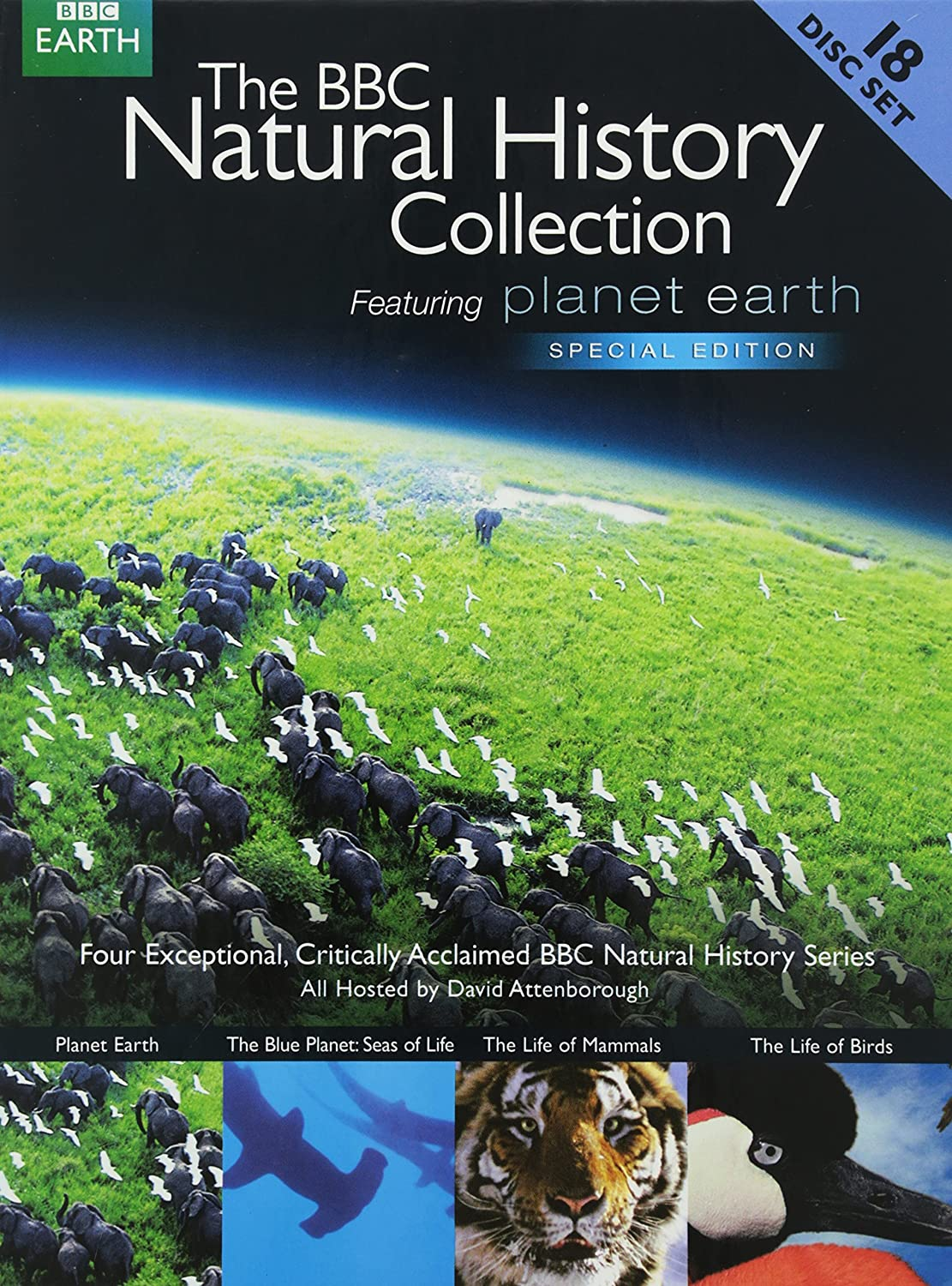 Amazon.com: BBC Natural History Collection (Planet Earth: Special Edition / Blue Planet: Seas of Life: Special Edition / The Life of Mammals / The Life of ...