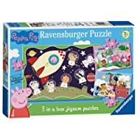 Ravensburger Peppa Pig 3 in Box Jigsaw Puzzles (15, 20, 25pc)